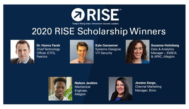 Security Industry Association Awarding Scholarships To Young Professionals Towards Continuing Education And Professional Development