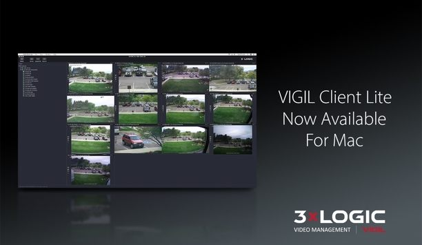 3xLOGIC Announces Availability Of VIGIL Client Lite Software For Mac Users Providing Basic Functionality Of PC Version