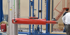 Adams Rite, Total Glass Test Aluminum Commercial Swing Door To PAS24 Security Standard
