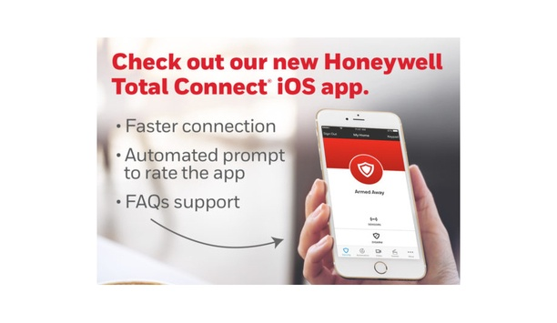 Honeywell Announces New iOS App Redesign For Total Connect Remote Services