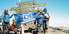 Dedicated Micros Supports Successful Mount Kilimanjaro Fundraising Expedition