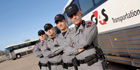 Security On Wheels - G4S'  U.S. Customs And Border Protection Prisoner Transport Bus