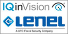 IP Security Camera Specialist IQinVision Earns Lenel Factory Certification