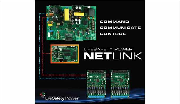 LifeSafety Power Introduces Predictive Analytics In NetLink Network Communications Module And PowerCom Power System Manager