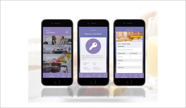 SALTO Systems Access Control System Integrated With MediaConcepts Priscilla Mobile Application