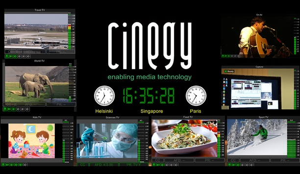 Cinegy Exhibits Latest Improvements To Video Compression, Automation, And Playout Solutions At IBC 2017