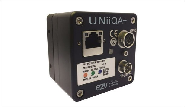 E2v Line Scan Cameras With NBASE-T Ethernet Frame Grabber-less Interface Now Available
