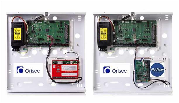 Orisec Control Panel Range Integrated With CSL And WebWay Solutions