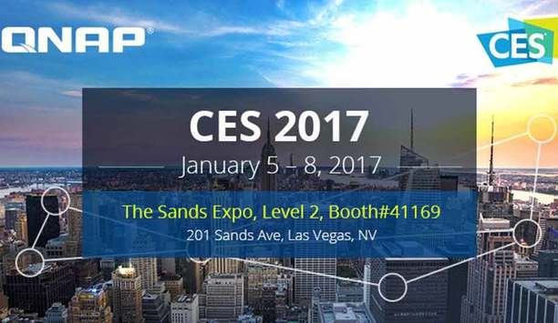 QNAP To Showcase Thunderbolt 3 NAS, QIoT Suite And QTS IoT Server, 4K Live-stream Broadcasts, And More NAS Solutions At CES 2017