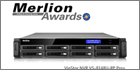 QNAP's VioStor NVR VS-8148U-RP Pro+ Wins The Merlion Awards At Safety & Security Asia 2014