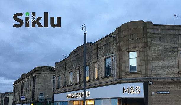 Siklu's Etherhaul MmWave Radios Enhance Surveillance Network For Burnley Town Centre