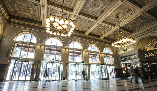Boon Edam Revolving Doors Deployed At Stockholm Central Station