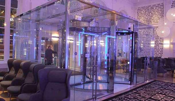 Boon Edam Tournex Revolving Door Boosts Security At Warwick Hotel Rittenhouse Square In Philadelphia, Pennsylvania