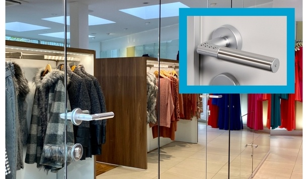 ASSA ABLOY's Code Handle Secures An Upscale Fashion Boutique, Patio, With A PIN Locking Handle