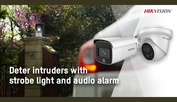 Hikvision Enhances AcuSense Network Camera Series With Strobe Light And Alarm To Instantly Deter Intruders