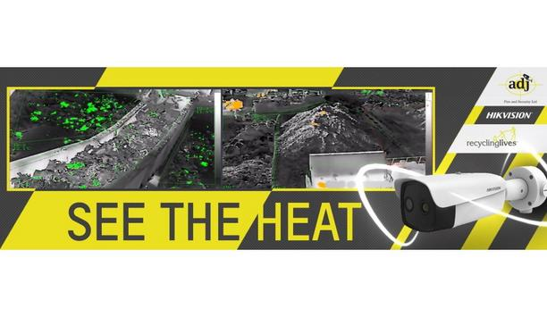 Hikvision And ADJ Fire And Security Provide Thermal Imaging Technology At Recycling Lives