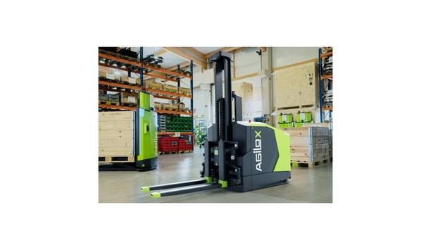 AGILOX Introduces Autonomous Omnidirectional Counterbalanced Forklift OCF Operating With Swarm Intelligence