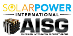 American Integrated Security Group To Showcase Solar Security Solutions At Solar Power International 2016