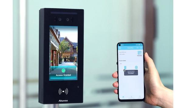 Akuvox And CIE Unveil A05C Smart IP Access Control Reader Featuring Face Recognition & Multi-Format Contactless Authentication