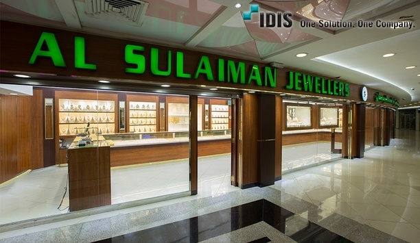 IDIS Provides Surveillance Equipment For Qatari Jewelery Chain To Comply With Department Regulations