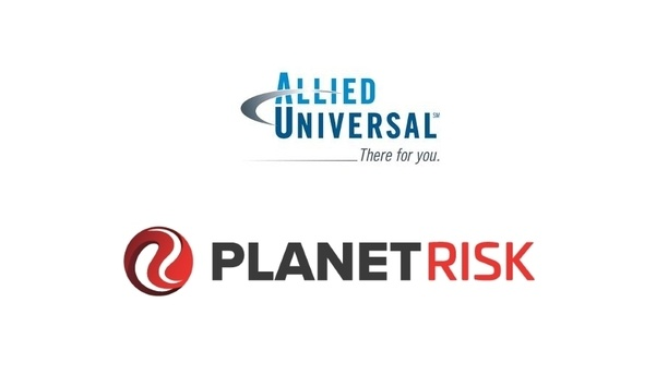 Allied Universal Collaborates With PlanetRisk To Provide GSOC Service And Product Offering