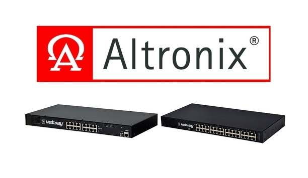 Altronix Delivers Excessive Power Per Port With New NetWay Midspans Introduced At GSX 2018