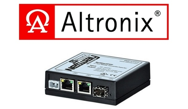 Altronix Releases Latest NetWay Spectrum 2-Port Media Converter/Injector