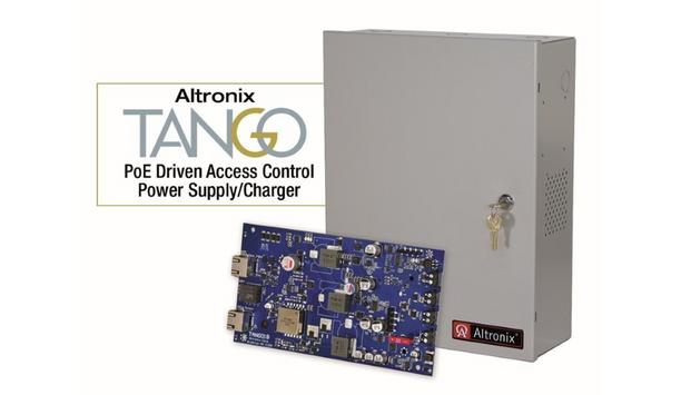 Altronix Announces Its Tango PoE Driven Power Supply/Chargers Are Now UL 294 Listed For Access Control Applications