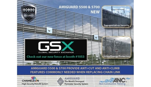 AMICO Security To Showcase AMIGUARD 5500 And 5700 Wire Fence System At GSX 2019