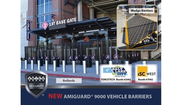 AMICO Security To Showcase AMIGUARD® 9000 Series Vehicle Barriers At ISC West 2020