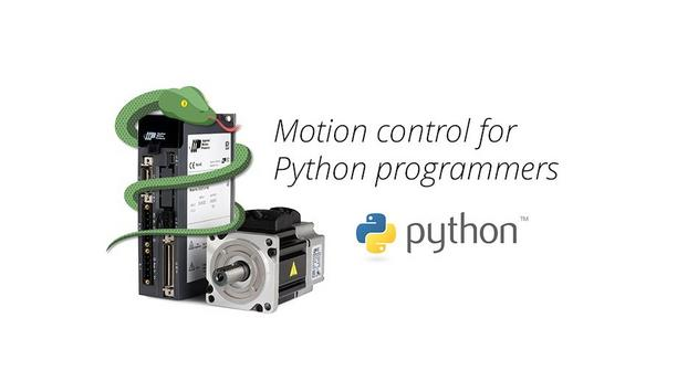AMP Releases Application Note With Code For Interfacing Intelligent Drives In Python Automation Projects