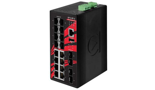 Antaira Technologies Enhances Its Industrial-Grade Equipment With Redesign Of The LMP-2012G-SFP And LMX-2012G-SFP Series PoE Switches