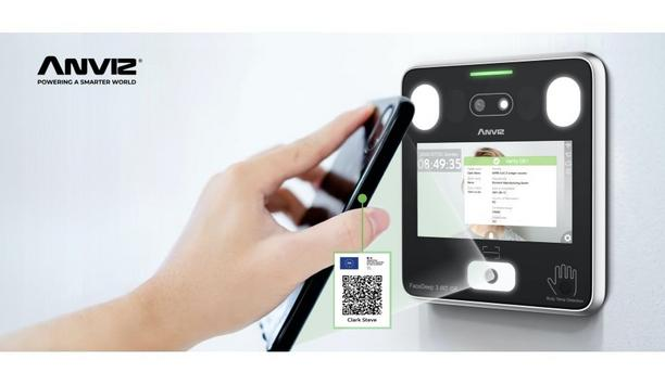 Anviz Brings The FaceDeep 3 QR Version To Fulfill The Requirement Of COVID-19 Green Pass