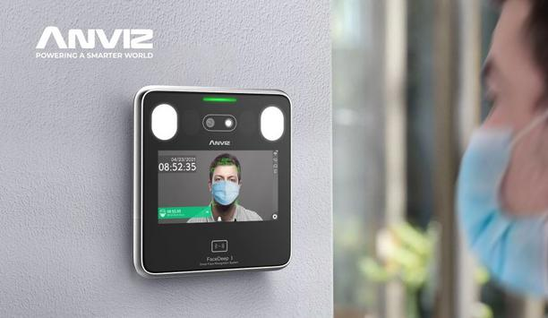 Anviz FaceDeep Series Provides Secure Touchless Access Control For People Returning To Workspaces And Schools