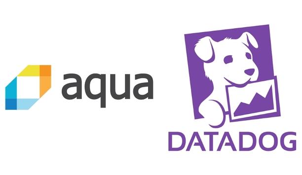 Aqua Security Integrates Its Platform With Datadog's Cloud Monitoring And Analytics Platform