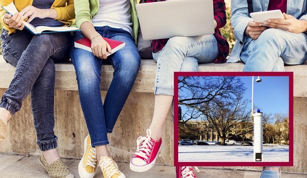 Arecont Vision Megapixel Panoramic Cameras Upgrade Outdoor Surveillance At Butler University