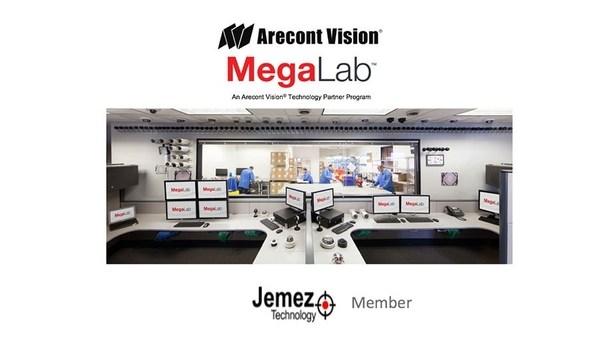 Arecont Vision Announces Addition Of Jemez Technology LLC To Technology Partner Program