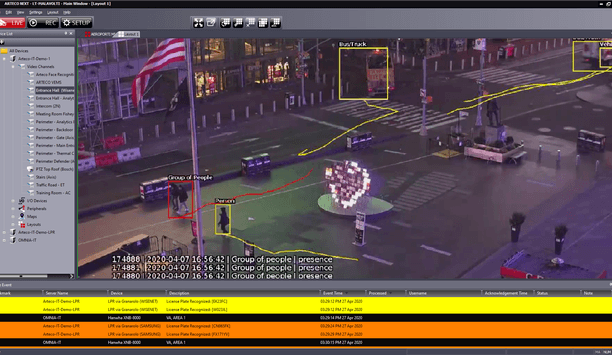 Arteco VCA Applies Deep Learning Analytics To Event-Based Video Management