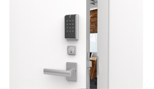Assa Abloy Launches IP-Enabled Locks With Two-Factor Authentication And A Push-Button Keypad