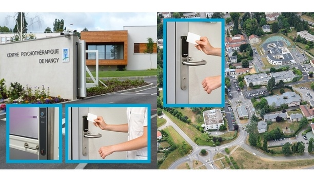 Aperio Wireless Access Control System Installed At The Centre Psychothérapique De Nancy In France
