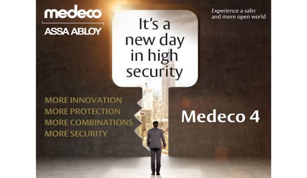 ASSA ABLOY Introduces Medeco 4 (M4) High-Security Key Technology