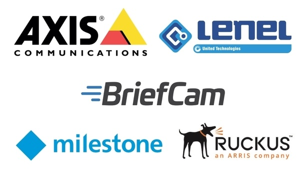 Axis Communications, BriefCam, Lenel, Milestone And Ruckus Collaborate To Enhance Security And Connectivity At 2018 LLBWS