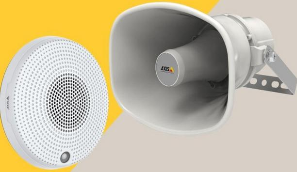 Axis Launches Two New Network Mini Speakers For A Proactive Deterrence Solution In Any Environment