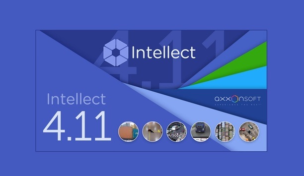 AxxonSoft Announces Release Of Version 4.11 Of The Intellect PSIM