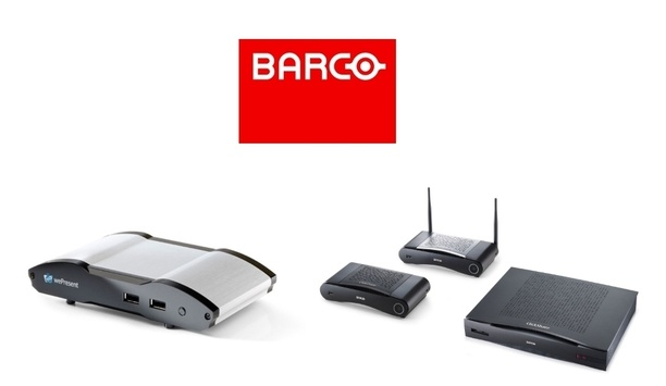 Barco Showcases ClickShare And WePresent Security Collaboration Solutions At Enterprise Connect 2018