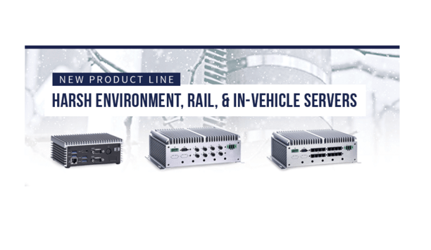BCDVideo Announces Harsh Environment Video Recording Servers For Rail And Vehicle