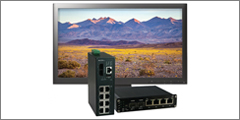 BCDVideo Releases Rigid Networking Series Switches Hardened To Operate In Harsh Environment