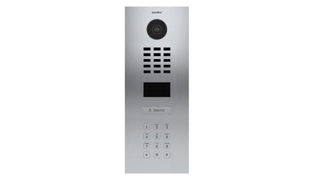 Bird Home Automation Group Launches DoorBird D2101KV IP Video Door Intercom With An Integrated Keypad