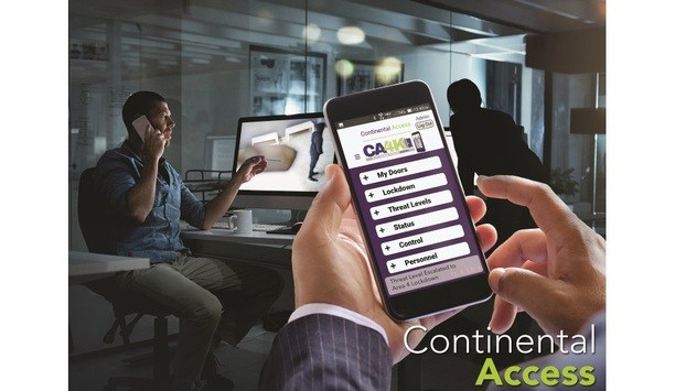 The Continental Access Division Of NAPCO Launches The CA4K Access Manager App