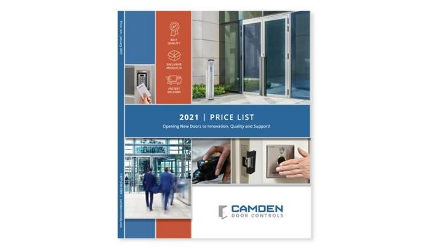 Camden Door Controls Releases Product Overviews, Features, Specifications And Pricing For 2021